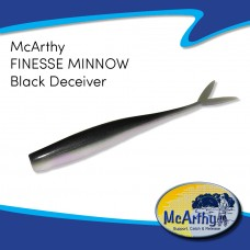 McArthy Finesse Minnow - Black Deceiver