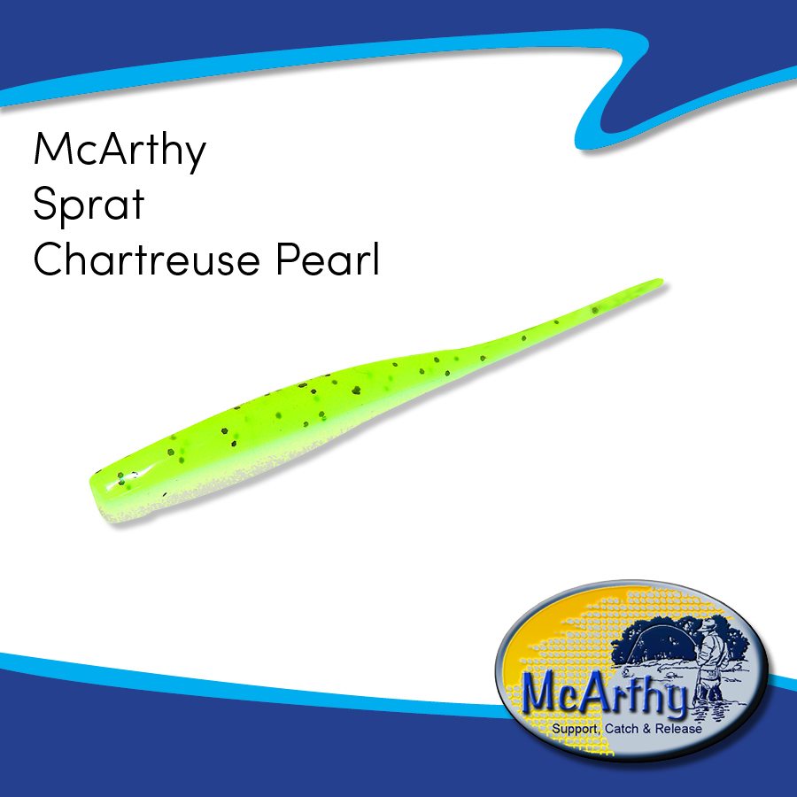 McArthy Sprat - Chartreuse Pearl