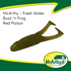 McArthy Fresh Water - Buzz 'n Frog - Red Poison