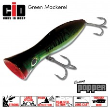 CID Casting Popper - Green Mackerel