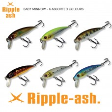 Ripple-Ash Baby Minnow