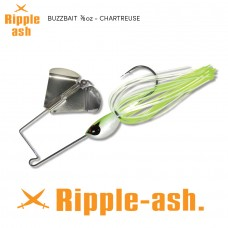 Ripple-Ash Buzz Bait Chartreuse 3/8oz