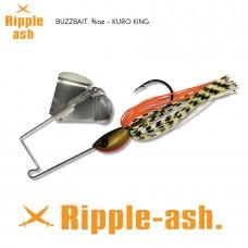 Ripple-Ash Buzz Bait Kuro King 3/8oz