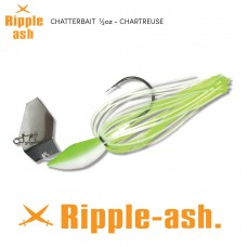 Ripple-Ash Chatter Bait Chartreuse 1/2oz