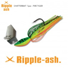 Ripple-Ash Chatter Bait Fire Tiger 1/2oz