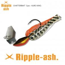 Ripple-Ash Chatter Bait Kuro King 1/2oz
