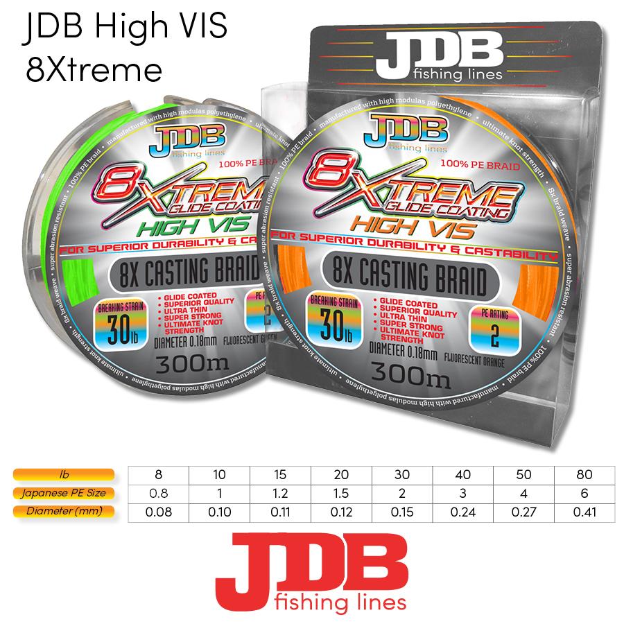 JDB 8Xtreme Braid