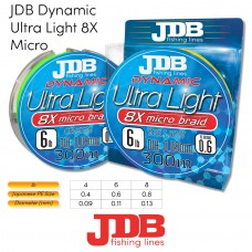 JDB Dynamic Ultra Light 8X Micro Braid