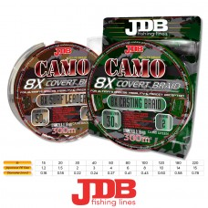 JDB Camo Covert 8X Braid