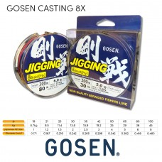 GOSEN - Jigging Braid 8X