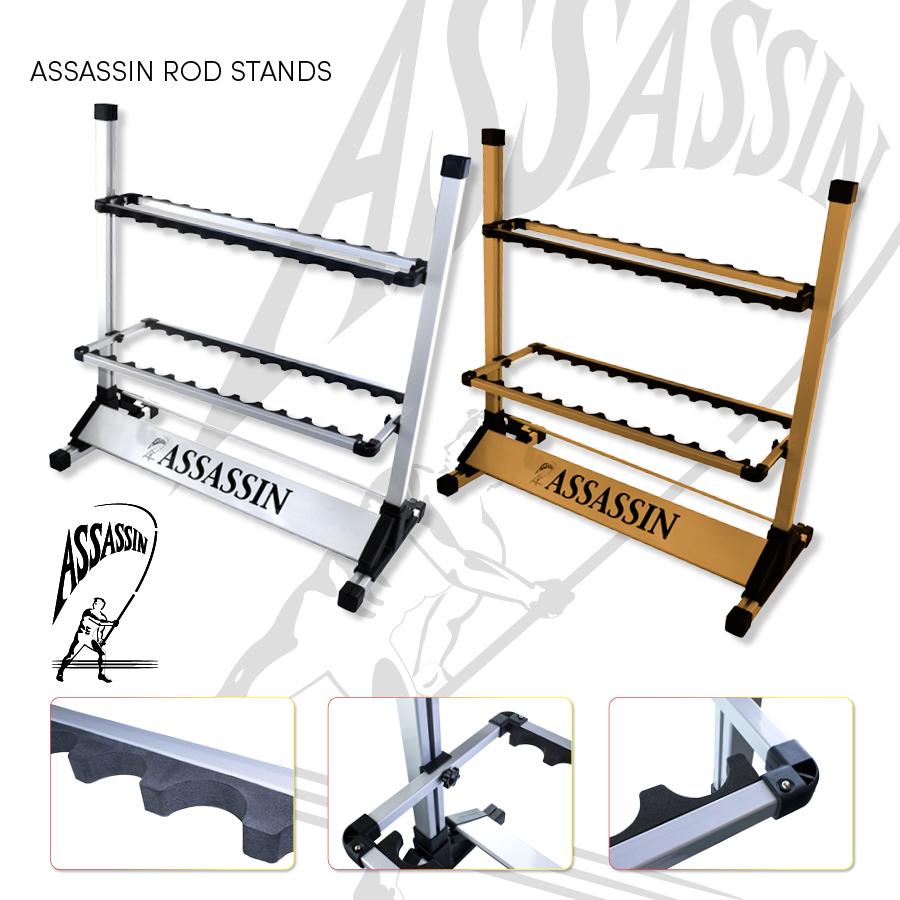 Assassin Rod Stands