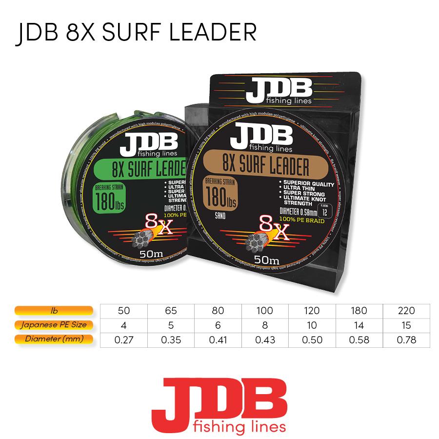 JDB 8X SURF LEADER Braid