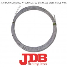 JDB Nylon Coated Stainless Steel Trace Wire (Carbon)
