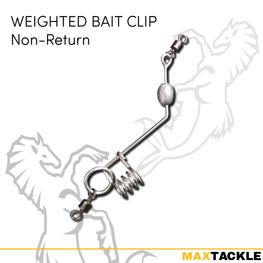 Maxtackle Weighted Bait Clip (Non-return)