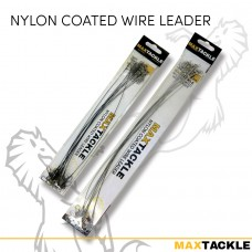 Maxtackle Nylon Coated Wire Leader
