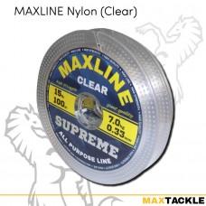 Maxline Nylon Clear 100m