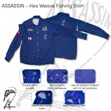 Assassin – Fishing Shirt Hex Weave