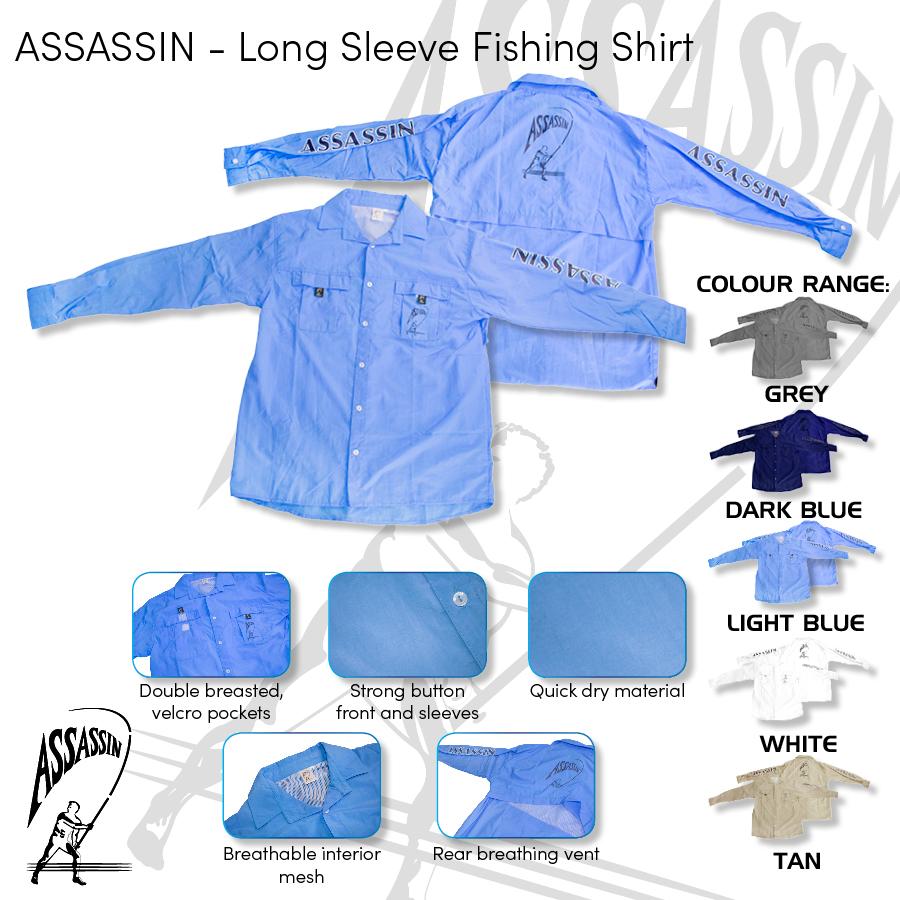 Assassin – Fishing Shirt Long Sleeve