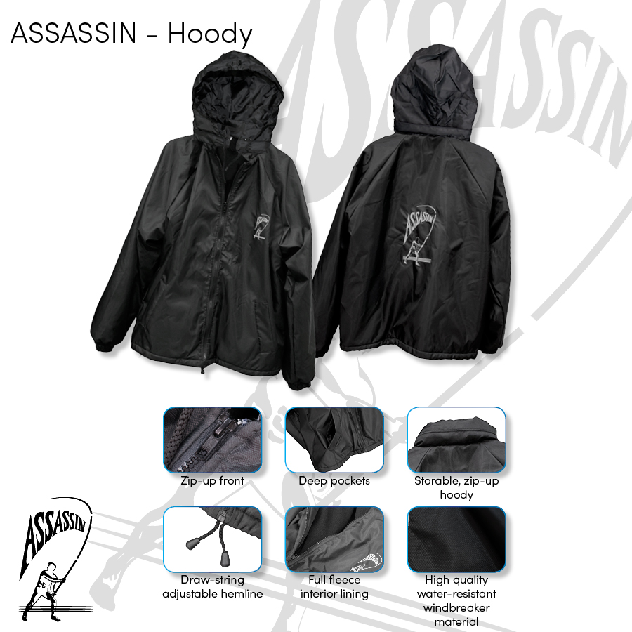 Assassin – Jacket Water Resistant