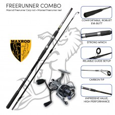 Maxrod Freerunner Carp combo (Freerunner rod and reel)