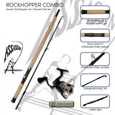 Assassin Rockhopper combo (Rockhopper and Tide reel)