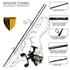 Maxrod Ranger Carp combo (Ranger rod and reel)