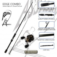 Assassin Edge bass combo (Edge rod and Pulse reel)