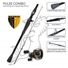 Maxrod Pulse bass combo (Pulse rod and Pulse LTE reel)