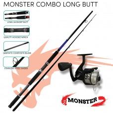 Monster Combo Long Butt (Monster rod and reel)