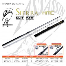 ASSASSIN SIERRA HMC HEAVY, X HEAVY & 2x HEAVY  2 PIECE  11'