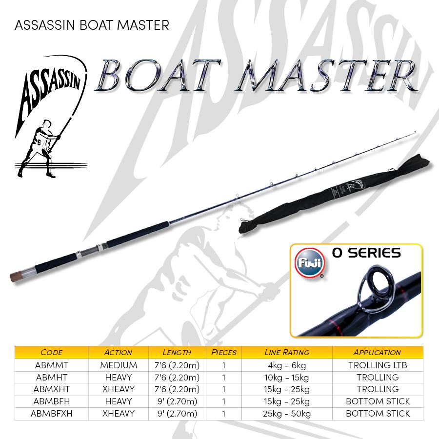 3.Boat, Popping & Jigging -  ASSASSIN BOATMASTER