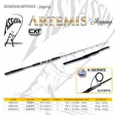 ASSASSIN ARTEMIS JIGGING 6'8, 5'6, 5'3 -  1 PIECE