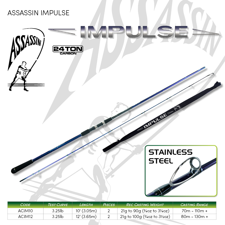 ASSASSIN - CARP - IMPULSE 10' & 12 '