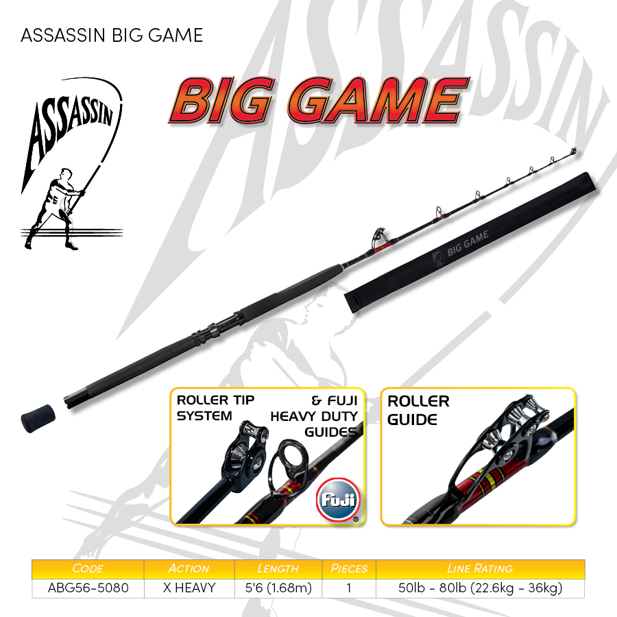3.Boat, Popping & Jigging -  ASSASSIN BIG GAME