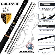 MAXROD GOLIATH SURF CASTING 5 PIECE 14'