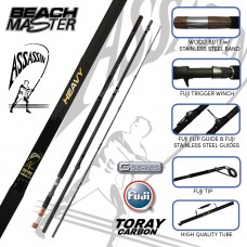 ASSASSIN BEACHMASTER LITE/MEDIUM/HEAVY  3  PIECE  12' 9""